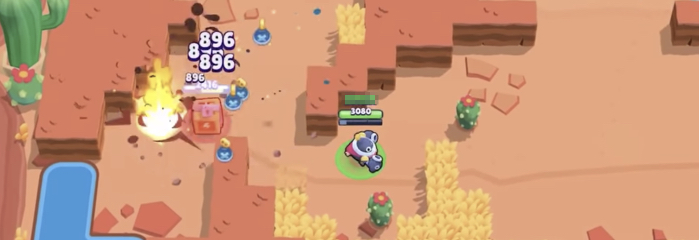 aiming with tick in showdown