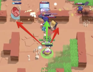 shooting direction of spike