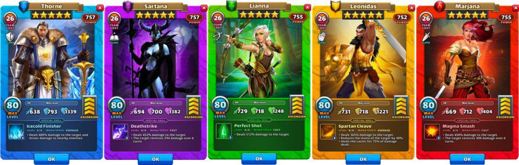 defensive damage dealer empires and puzzles