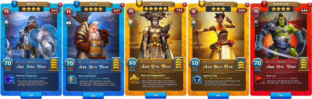 defensive tanks empires and puzzles